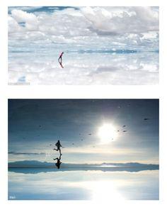 Uyuni salt desert