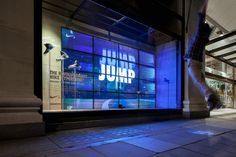 interactive and/or kinetic art installations at Nike Selfridges by ...,staat
