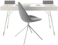 Cupertino is a minimalist design created by Denmark-based designer BoConcept. The Cupertino desk is a multi-functional work force; a small working table with great potential. It features an integrated sound system with Bluetooth-enabled speakers for a full Hi-Fi experience. Compartments for easy cable management and storage are hidden beneath beautiful oak tops that provide a warm contrast to the white lacquer or black-stained oak veneer, the two color options available for this table. The…
