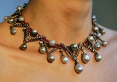 A necklace owned by Marie Antoinette auctioned at Christie's London on Dec. 12, 2007. Cate Gillon/Getty Images