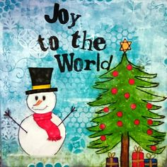 Joy to the world Joy To The World, Mixed Media, Christmas Ornaments, Holiday Decor, Design, Home Decor, Decoration Home, Room Decor, Christmas Jewelry