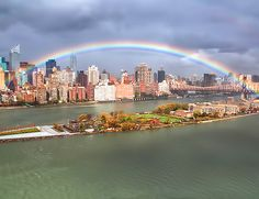 Post-Hurricane Rainbow over NYC, Look how faithful my God is. His promise means the same today as it did in the Old Testament. :)