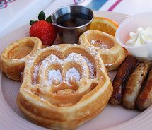 Everyday couuld be a Disney day! Thank you, April, for my Mickey waffle maker. I <3 it!