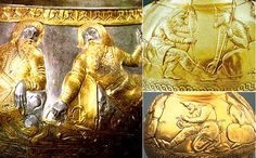 Archaeologists discover 2,400-year-old solid gold 'bongs' used by Aryan kings to smoke cannabis at ceremonies