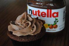 Hazelnootpasta Botercreme - Cupcakes & Muffins