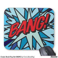 Comic Book Pop Art BANG