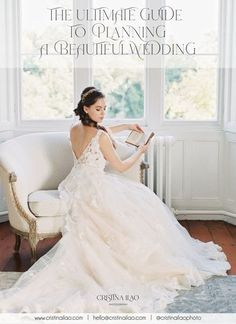 Beautiful magazine-worthy weddings don't just happen. They involve an awful lot of research and a long tedious process if you haven't got a clue or if you don't have a planner. Stop wasting your time and get this ultimate guide. In photo: Victorian inspired spring wedding at Thicket Priory wedding venue in Yorkshire. Photo by Cristina Ilao. www.cristinailao.com