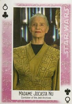 MADAME JOCASTA NU CARETAKER OF THE JEDI ARCHIVES Military Survival Gear, Tactical Survival, Trading Cards, Star Wars, Geek, Stars, Movies, Fashion, Moda