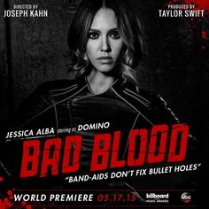 Jessica Alba and Empire's Serayah Joining Taylor Swift's ''Bad Blood'' Music Video?See Their Posters!