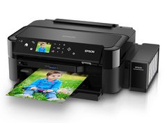 Impresora Epson L810 - Sistema de tinta continuo - imprime CD/DVD
