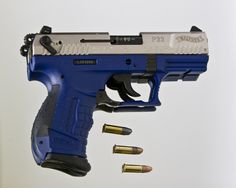 Walther P22 pistol (Photo Credit W.L.M.II)  Phillip Michael's Interpretation: awesome wicked cool exotic inspiring inspiration flying-object fire weapons gun guns pistol 2nd-ammendment rights protection defense