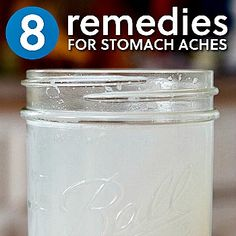 8 Homemade Remedies for Stomach Aches {Via Herbs & Oils Hub}