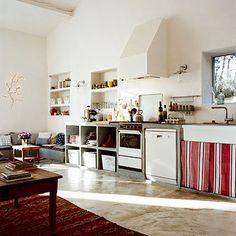 concrete cabinet kitchen