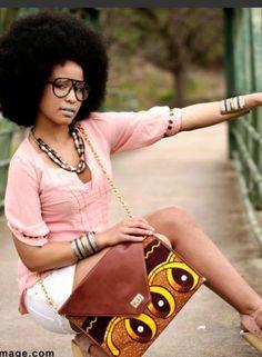 Natural hair- African princess.