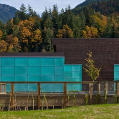 the Britannia Mine Museum is clad pre-patinated copper panels (75 percent recycled content) that have developed a very site-specific blue-green patina http://www.copper.org/applications/architecture/awards/2011/Beaty-Lundin-Visitor/