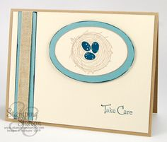 Stampin' Up! Take Care ~ http://stampingsharon.com/take-care-of-the-baby-geese