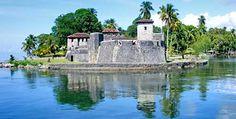 Castillo de San Felipe de Lara, Izabal, Guatemala.