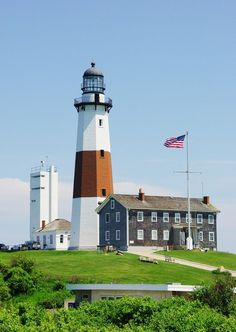 Montauk Point Lighthouse ~ Whitney Port's Guide to Summer in Montauk via @mydomaine
