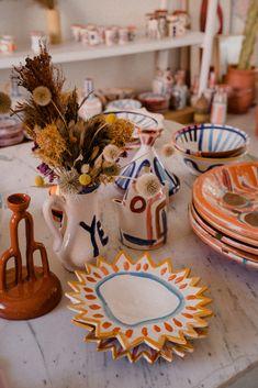 Ceramic Clay, Ceramic Pottery, Pottery Art, Slab Pottery, Thrown Pottery, Pottery Studio, Ceramic Bowls, Painted Pottery, Diy Clay