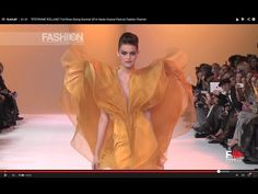 """▶ """"STEPHANE ROLLAND"""" Full Show Spring Summer 2014 Haute Couture Paris by Fashion Channel - YouTube"""