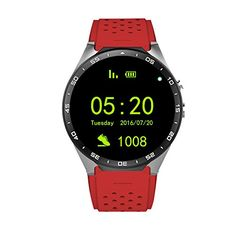Tengxu KW88 Smart Watch Android 51 3G WIFI BT Google Voice GPS SIM Camera Heart Rate ** To view further for this item, visit the affiliate link Amazon.com.