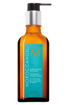 MOROCCANOIL® Treatment is a versatile, multitasking product that began the buzz on utilizing argan oil as a restorative property. It's an essential foundation for hairstyling and can be used as a conditioner, styler and finishing tool depending on your needs. Plus, its formula leaves your hair healthy, shiny and more manageable.