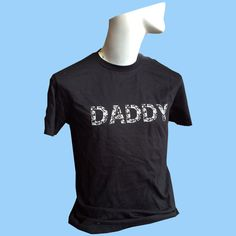 DADDY Floral Print T-shirt - S/M/L/XL - Choose Your Size by TROPICULT on Etsy