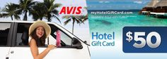 Whether your traveling for business of pleasure, this $30 Hotel Card & Avis Car Rental Certificate is a must have ($75 Value)!#wishlist #saveology