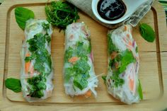 Fresh Rolls, Ethnic Recipes, Food, Meals