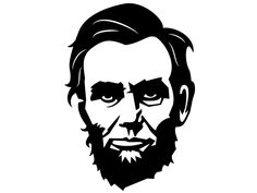Abraham Lincoln Vector Portrait Image