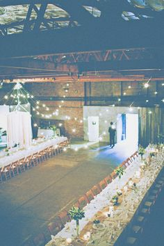 Tyler + Lauren DIY Industrial Wedding