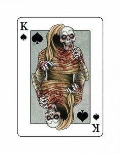 Edgar Allan Poe Playing Cards   Prefundia