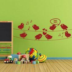 8 πουλάκια που τιτιβίζουν Decals, Kids Rugs, Home Decor, Products, Tags, Decoration Home, Kid Friendly Rugs, Room Decor, Sticker