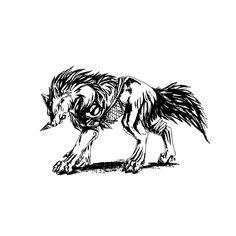 <li>Title: Dangerous Wolf</li><li>Materials: Vinyl</li><li>Color: Black</li>