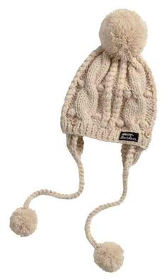 87ffb4124b3 Free shipping over  99 - Harley-Davidson Women s Cable Chunky Knit Aviator  Pom Hat