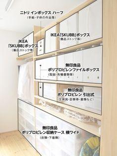 Trendy home office ideas organization decor shelves Ideas Muji Storage, Wall Storage, Closet Storage, Food Storage, Room Interior, Interior Design Living Room, Japanese Home Decor, Room Planning, Trendy Home