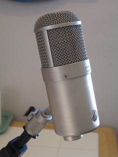 Neumann U47 FET by mcshimby, via Flickr