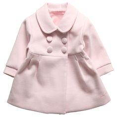 Coat by Tutto Piccolo yrs Childrens Coats, Fuchsia, Pale Pink, Elegant Girl, Girls Winter Coats, Kids Wardrobe, Girl Fashion, Babies Fashion, Baby Kids Clothes