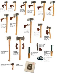 Gränsfors Bruks. All of them if I could! I've limited myself to the SFA and the Wildlife Hatchet. The kids can handle the latter.