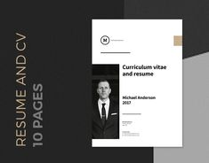 "Mein @Behance-Projekt: ""Minimal Resume with 10 Pages"" https://www.behance.net/gallery/48135009/Minimal-Resume-with-10-Pages"