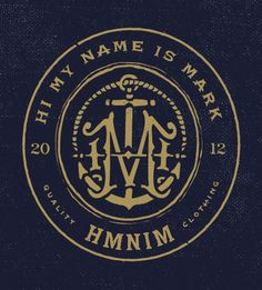 Hi My Name Is Mark branding by Forefathers Group
