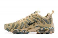 new styles e0fbe f8463 Elegant Graceful Nike Air Max Plus Tn Ultra Beige Black Camouflage 898015  026 Sneakers Women s Men s Running Shoes 898015-026