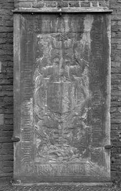 Floor slab of Johannes van Sulen and his wife Hadewich   Grafzerk van Johannes van Sulen en zijn echtgenote Hadewich, gevonden op het Janskerkhof   Centraal Museum Utrecht Museum, Utrecht, Rugs, Painting, Home Decor, Art, Farmhouse Rugs, Art Background, Decoration Home