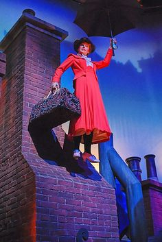 Mary Poppins scene in the Great Movie Ride at Disney's Hollywood Studios. Photo by #JoePenniston