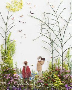 """Secret Garden"" Flower Print"