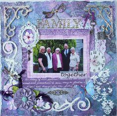 Family by Elizabeth Pipkin - Scrapbook.com
