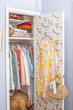 Jane Lilly Warren's stylish closet… (photo: Courtney Apple / Matchbook March '13)