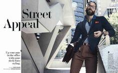 Male Fashion Trends: Bertrand Venail para GQ Australia Febrero 2016 por Jordan Graham