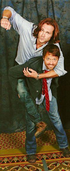 Jared & Misha   Supernatural