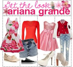 """""""Get the Look: Ariana Grande"""" by the-polyvore-tips ❤ liked on Polyvore"""
